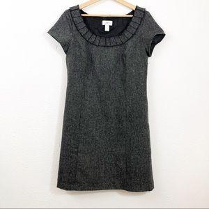 Ann Taylor LOFT Wool Blend Shift Dress Size 6